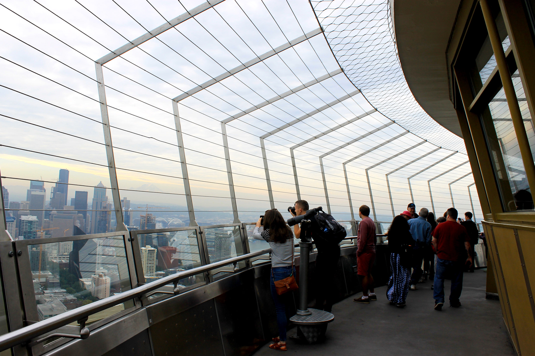 Space Needle Observatory Deck