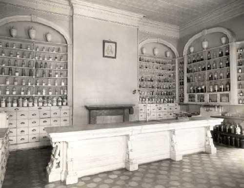 Pennsylvania Hospital Apothecary - 1752