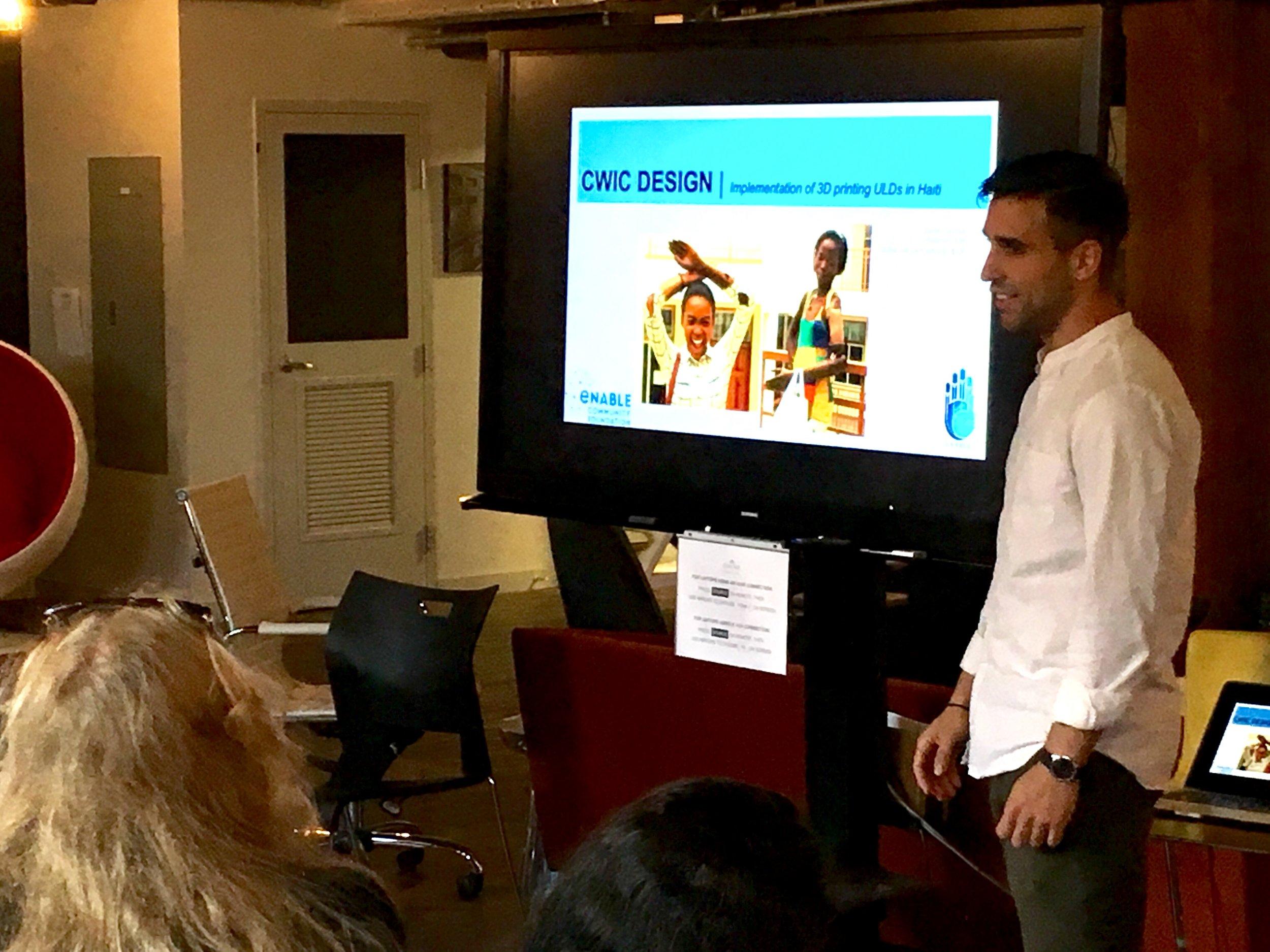 Dante Varotsis describes his experience implementing a 3D printed prosthetics program in Haiti