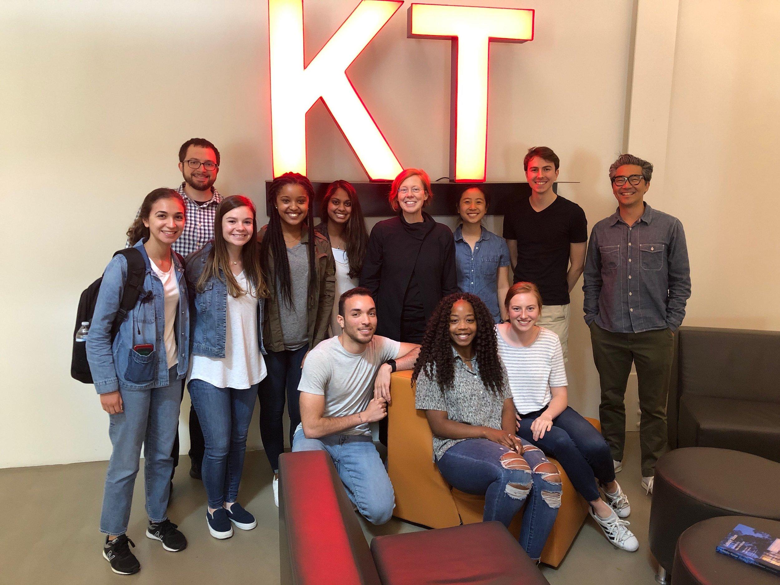 Meeting at KT -