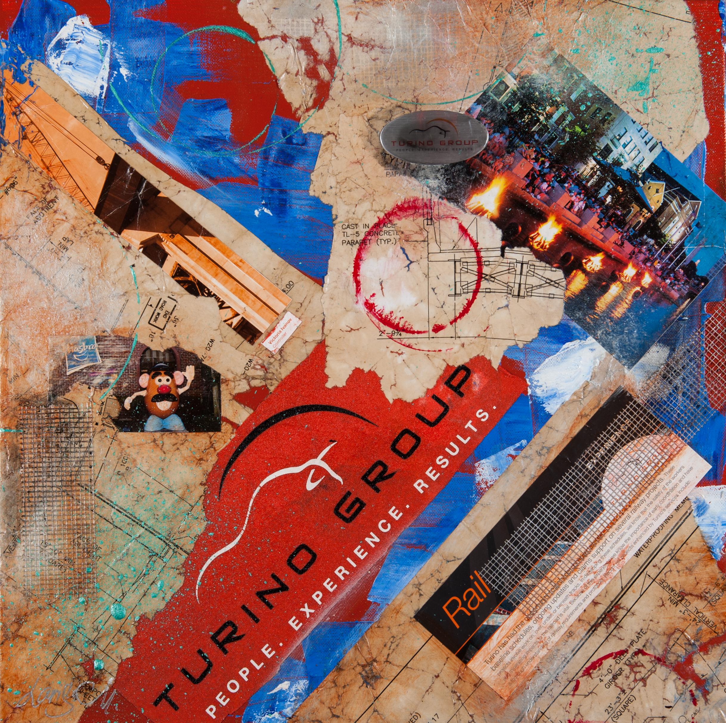 Tudino Engineering Firm, RI - 18X18 Custom Collage