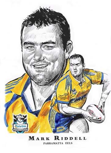 Parramatta Eels Cartoon Image