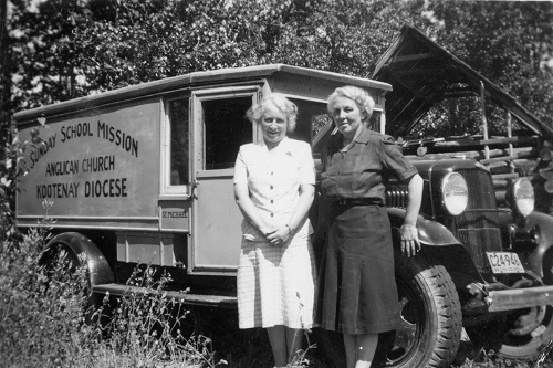 sunday school vanners, circa 1940