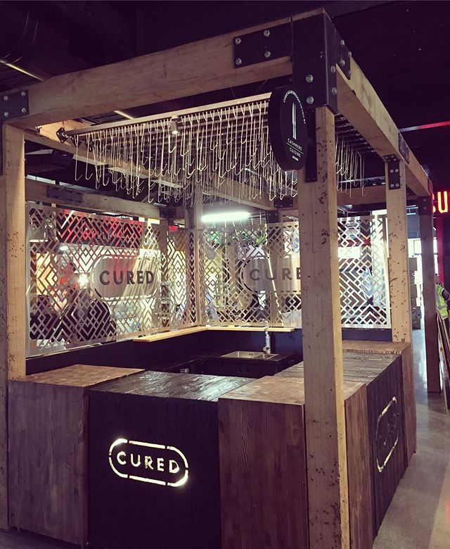 Cured stall for Cashmere Cuisine  almost ready for the opening of the @riversidemarket.nz next week. It's been great to be a part of this exciting new development in the CBD.  #fitout #nzdesign #farmersmarket #curedmeat #butcher #salami @curednewzealand #christchurch