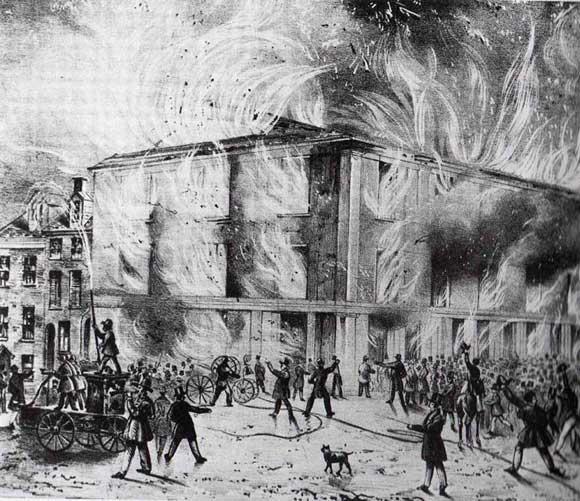 Arson at Pennsylvania Hall