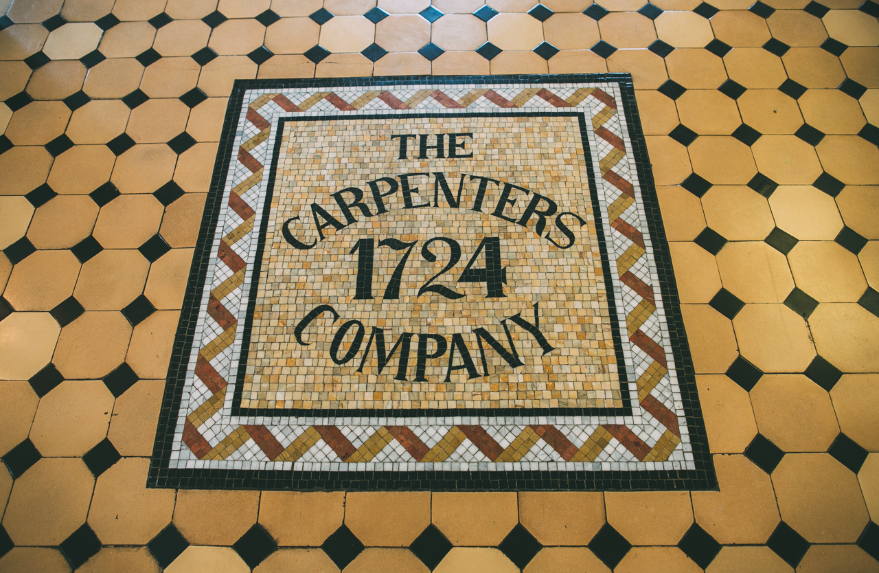 The Carpenters' Company is the oldest continuously operating trade guild in the United States!