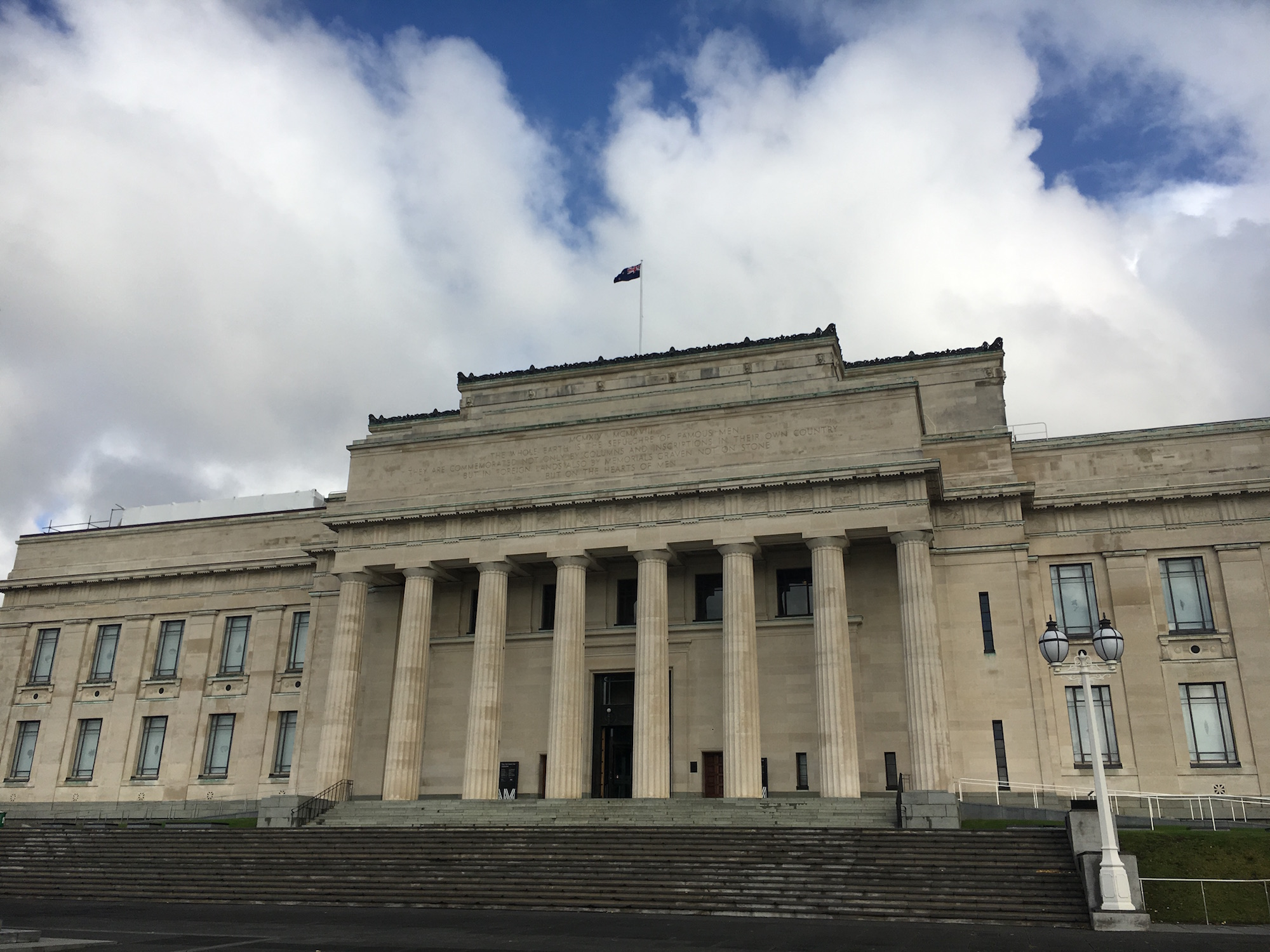 The Auckland Museum. Image used with permission.
