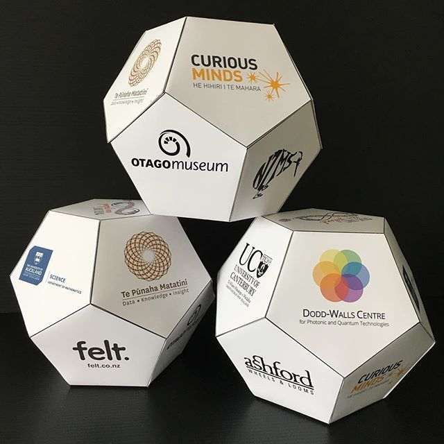 A big thank you to all of our wonderful sponsors for making the Dunedin Maths Craft Day possible! Come and join us @otagomuseum this Sunday, 10am-5pm. @curiousminds.nz @ucnz @iheartfelt @universityofauckland @ashford_wheels_looms