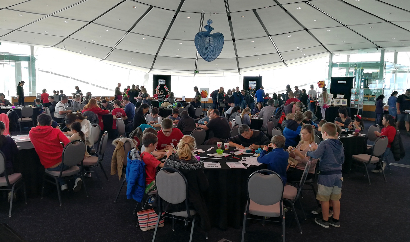 Maths Craft Festival 2017 in the Events Centre at the Auckland Museum