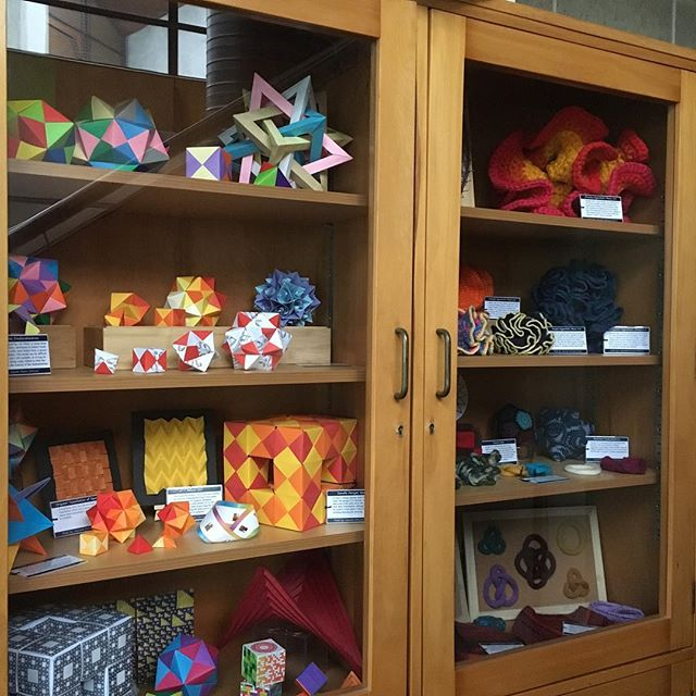 The #mathscraftnz cabinet of curiosities. The place where our craft quietly waits for our next event.
