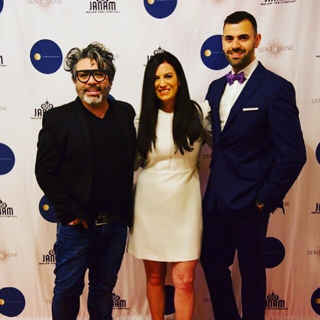 @nandoism @thatbowtieguynyc @tessgonnella at The 1st Annual Global Oneness Project NYC. 🌎 @theglobalonenessproject