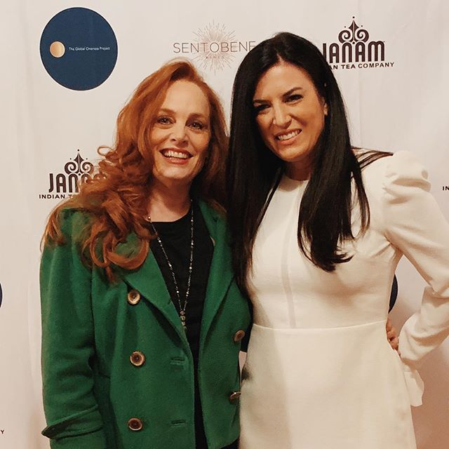@annettenaif thank you for your incredible support at our launch and 1st Annual Global Oneness Project! #oneness #connection 🌎