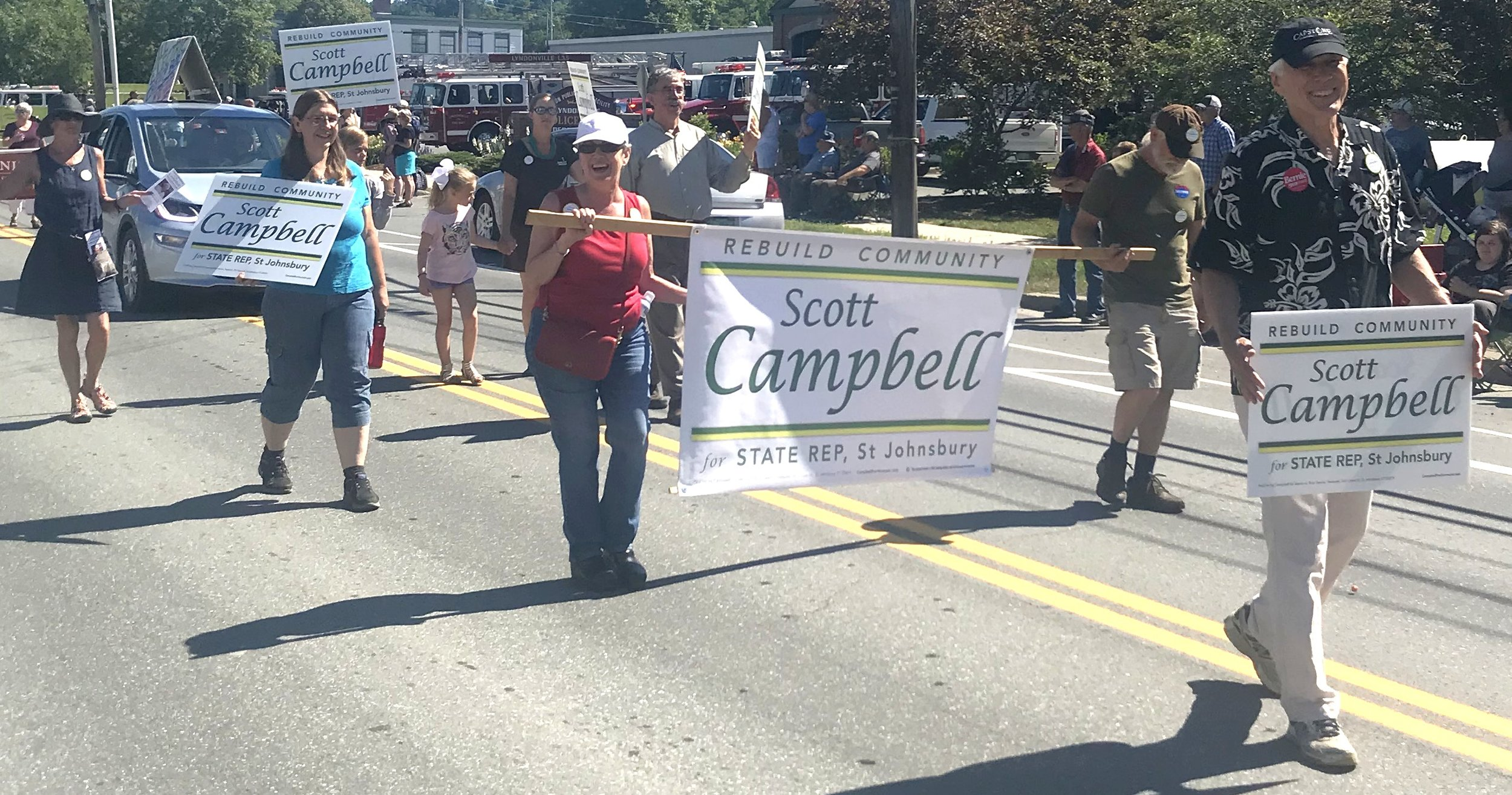 stars and stripes parade, lyndonville, july 21