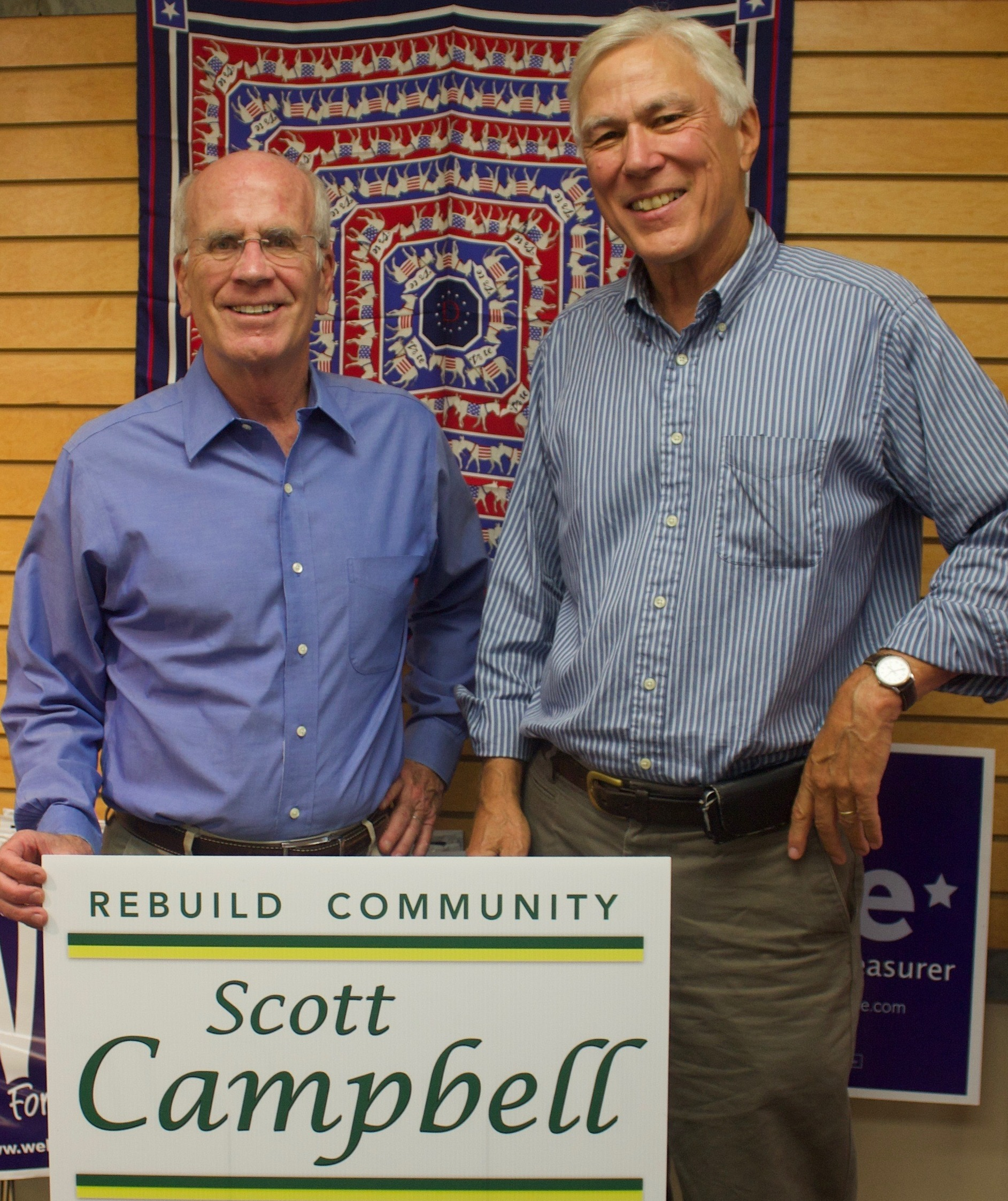 scott with congressman peter welch
