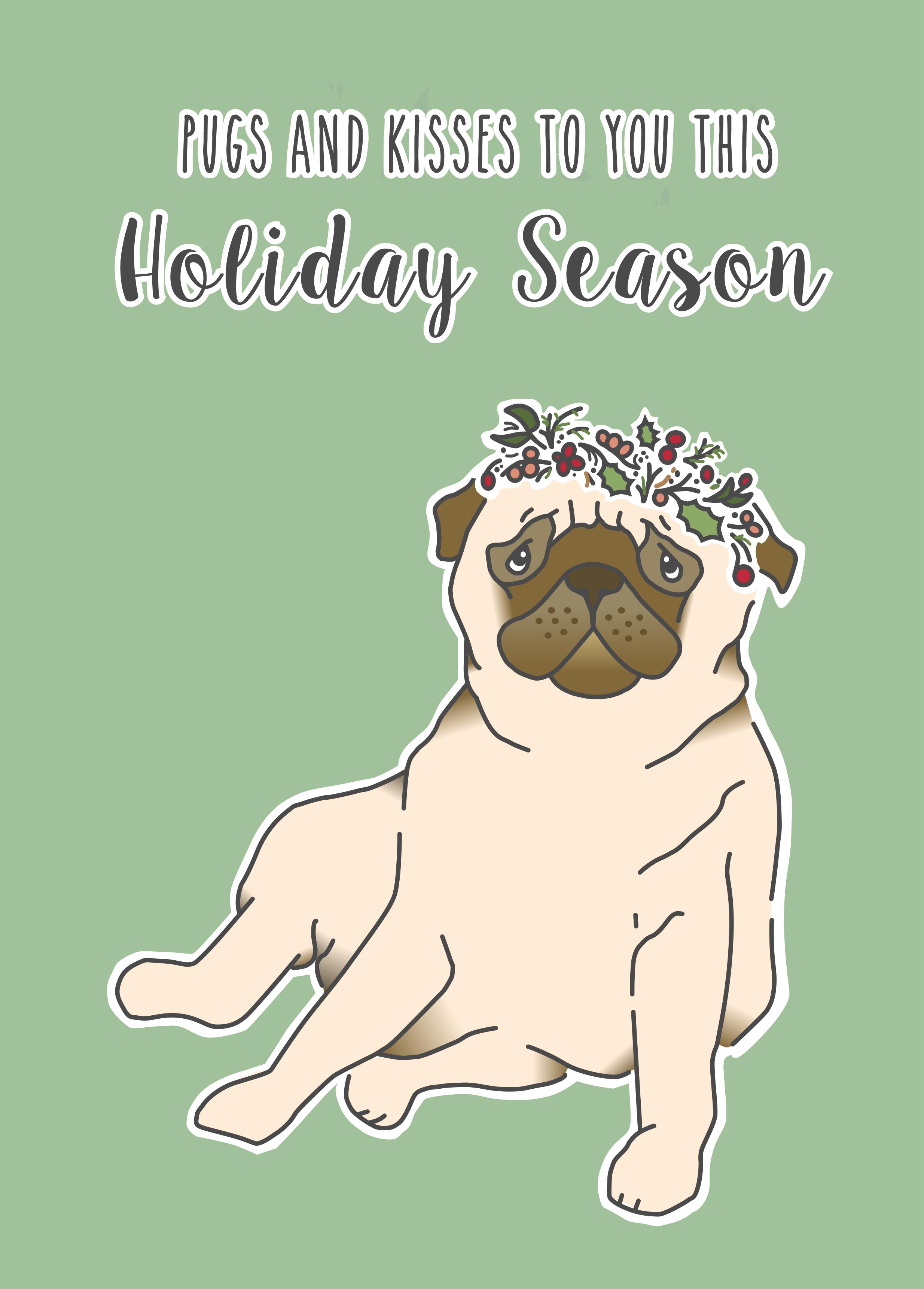 Holiday Pug  Fall 2016