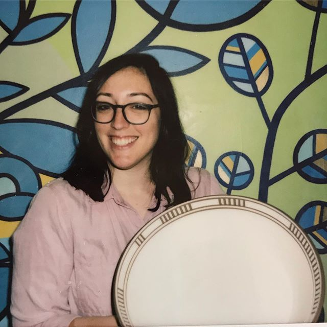 """When I was younger I used to say, """"I hate ceramics."""" But then I was introduced to the wheel and I fell in love. Also, shoutout to the real one, @simonnetfeeney who is the reason I took my first ceramics class in college."""