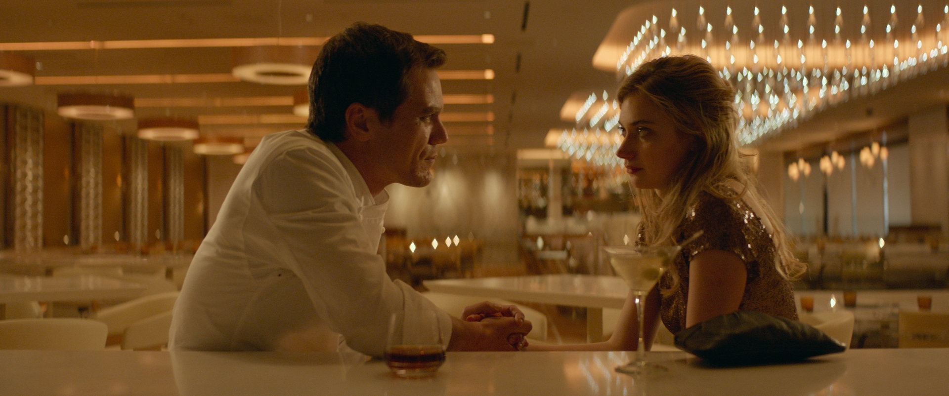 CAPTION:  Michael Shannon and Imogen Poots in  Frank & Lola .    PHOTO CREDIT:  Eric Koretz.   THIS IMAGE IS APPROVED FOR FAIR USE AND PUBLICITY PURPOSES.   (For full-res JPEG,  CLICK HERE .)