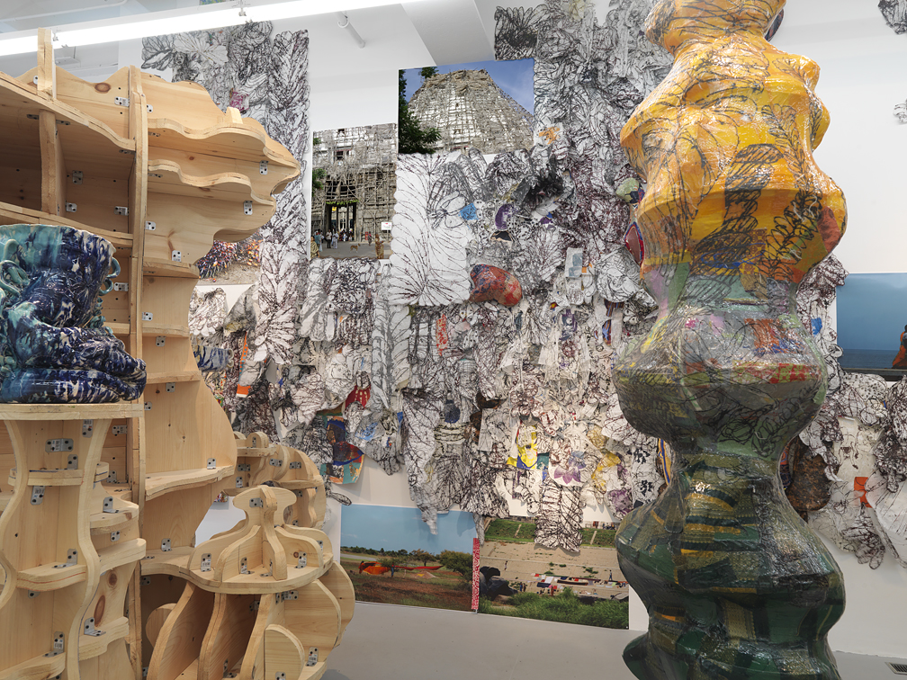 23. Cooper, More Is More, Installation Samson Projects, mixed media, 2011.jpg