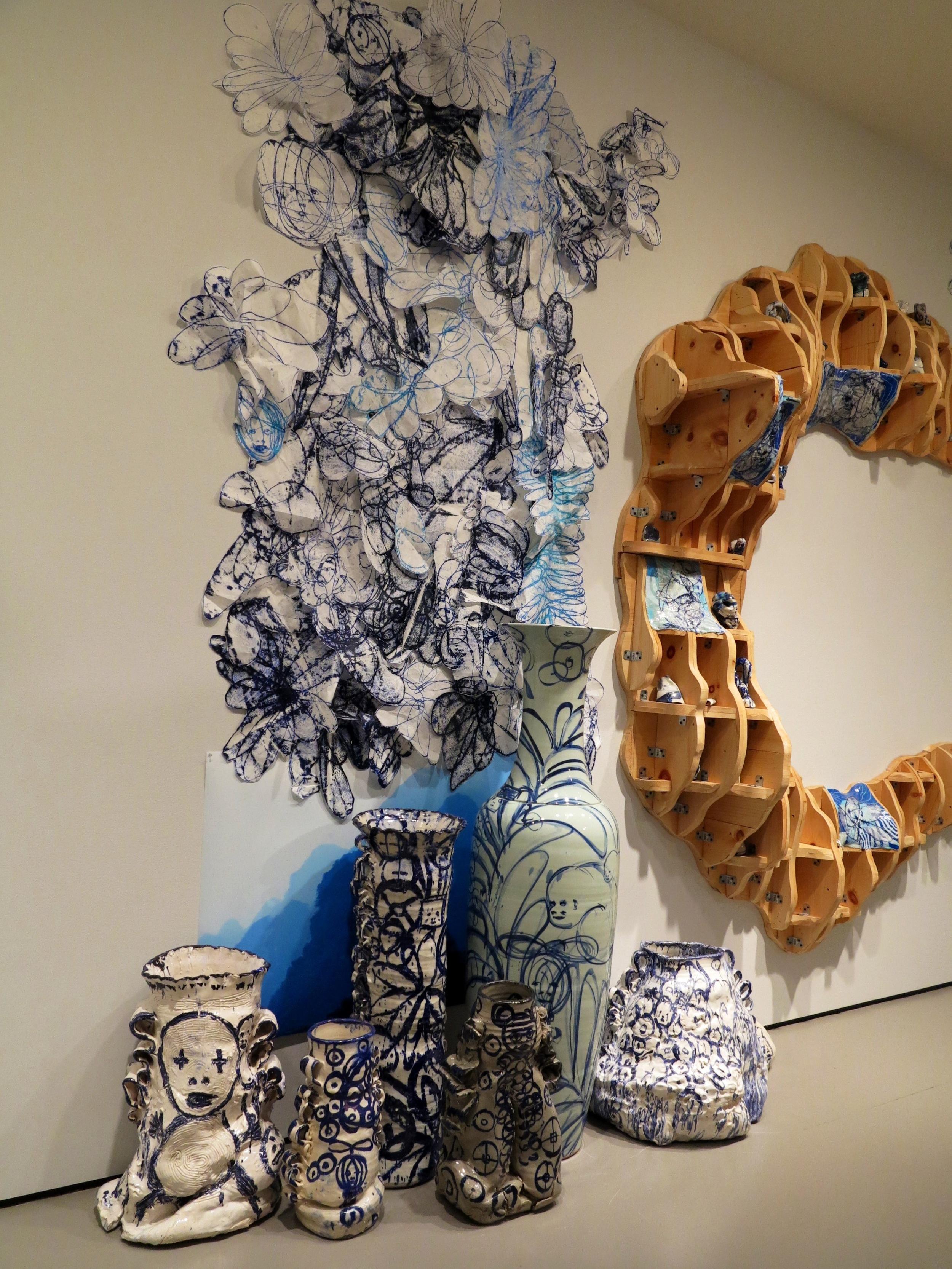 2.YuYu Blue, Boston Museum of Fine Arts Installation.JPG
