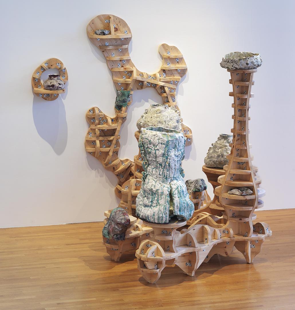 """YuYu Green, 2012, 120x72x120"""""""