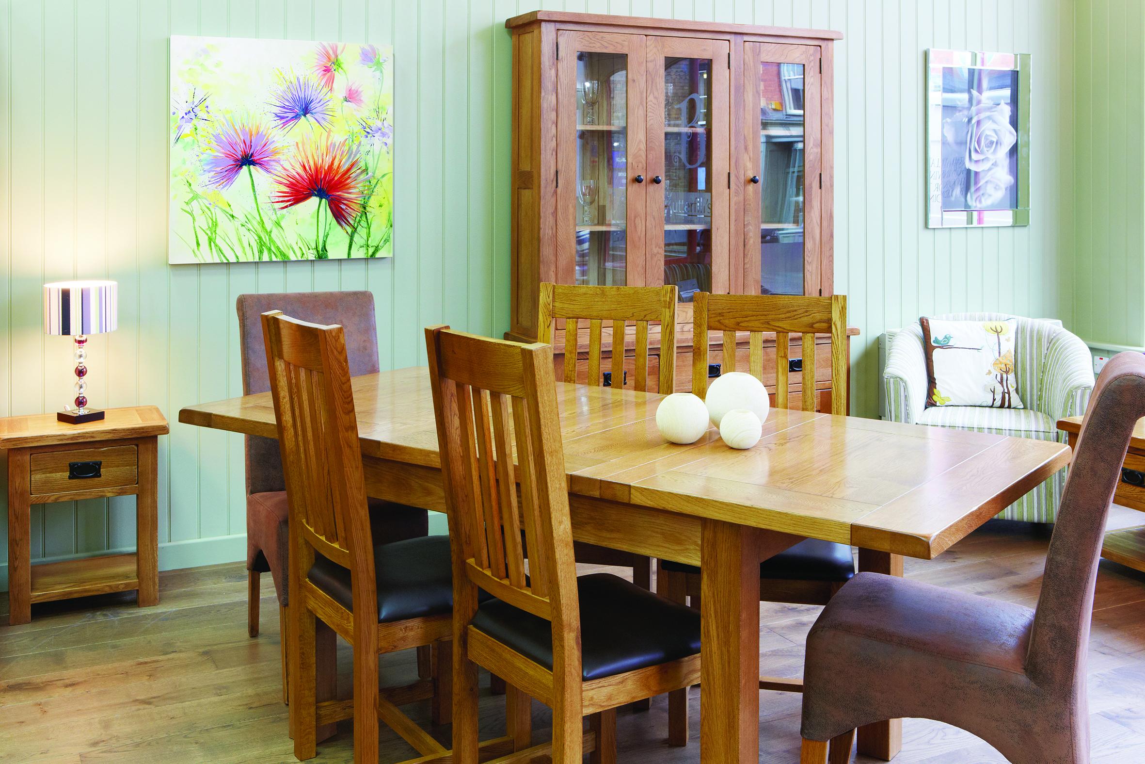 Butterfills furniture store Llandrindod Wells