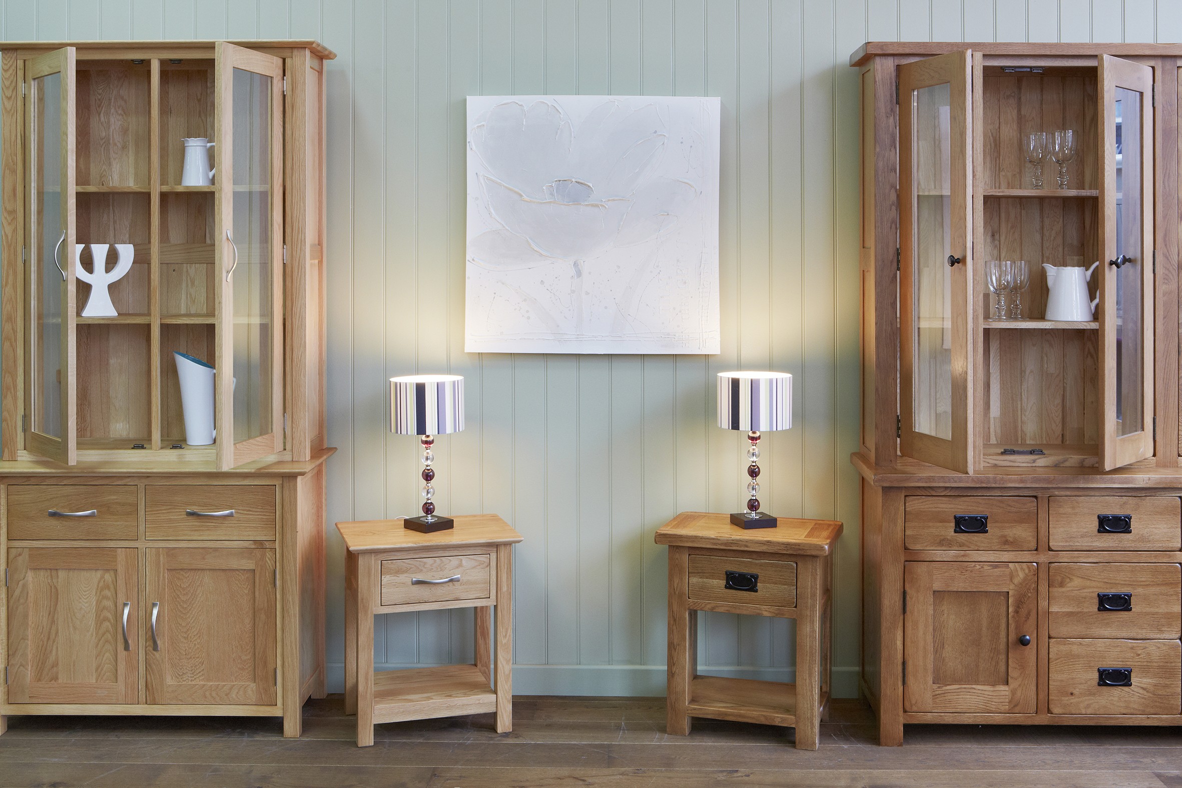 Welsh dressers bookcases and coffee tables