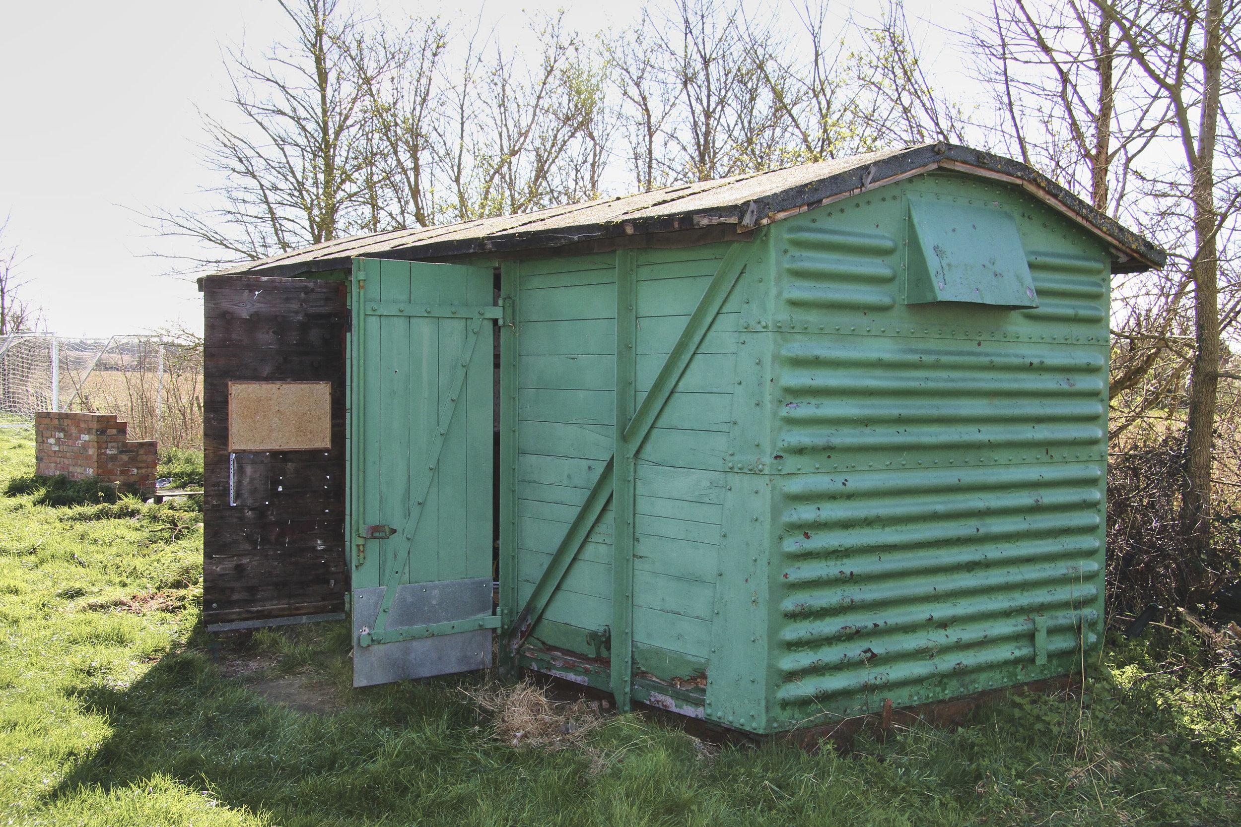 The wagon pre-renovation