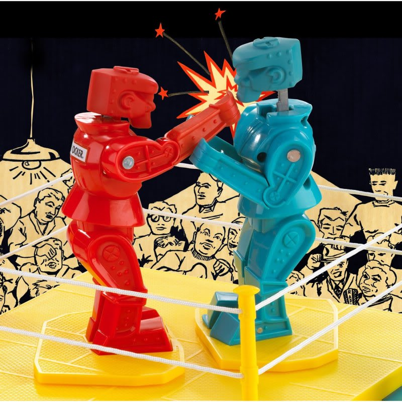 Seconds out ... Round one (I'm definitely in the red)