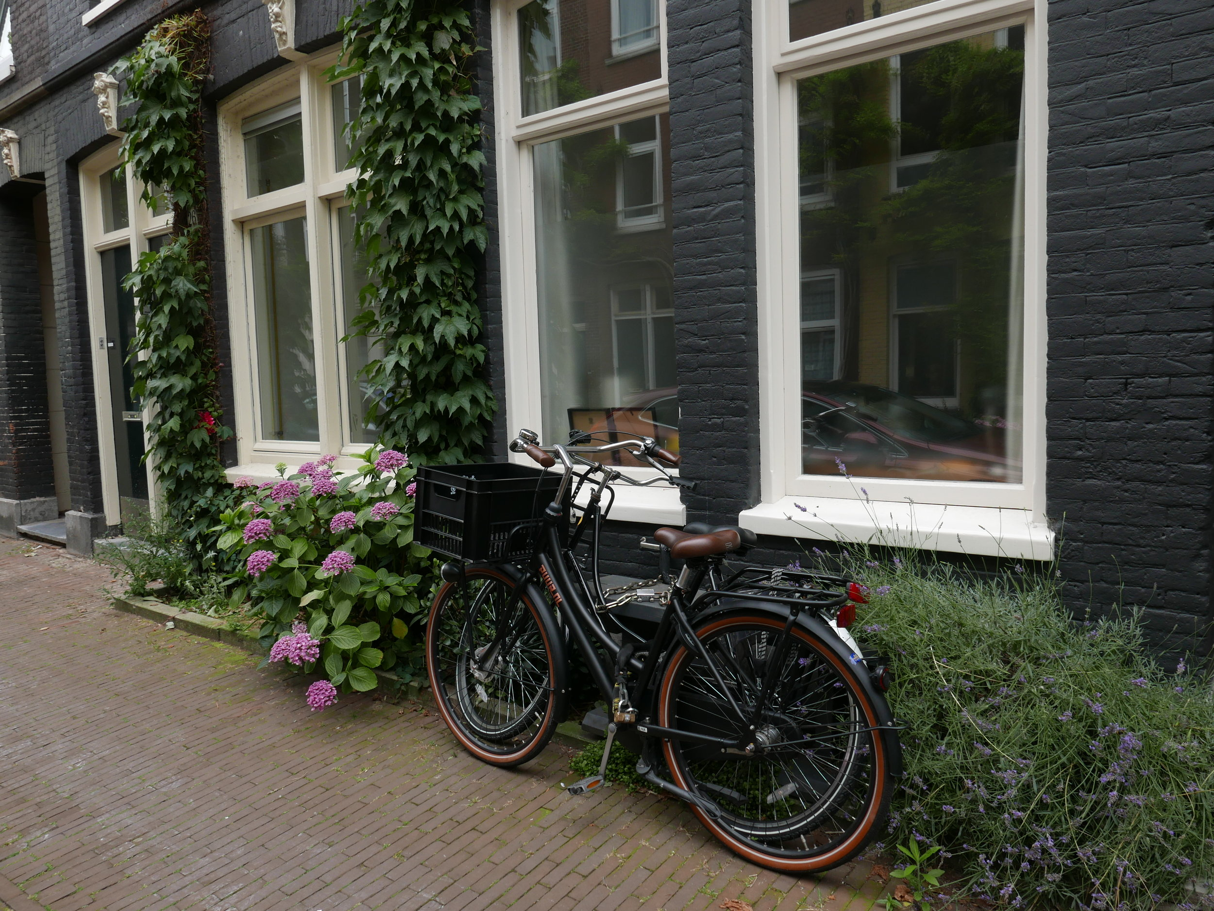 No underground for meetings, just a quick hop on a bike and away we go!