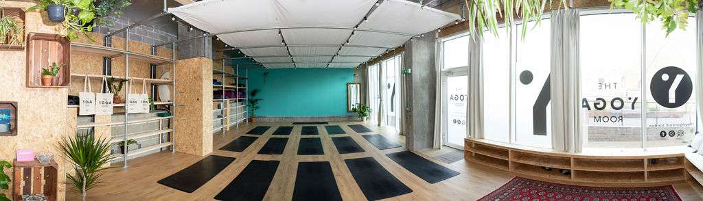 The beautiful new Yoga Room in London's Deptford