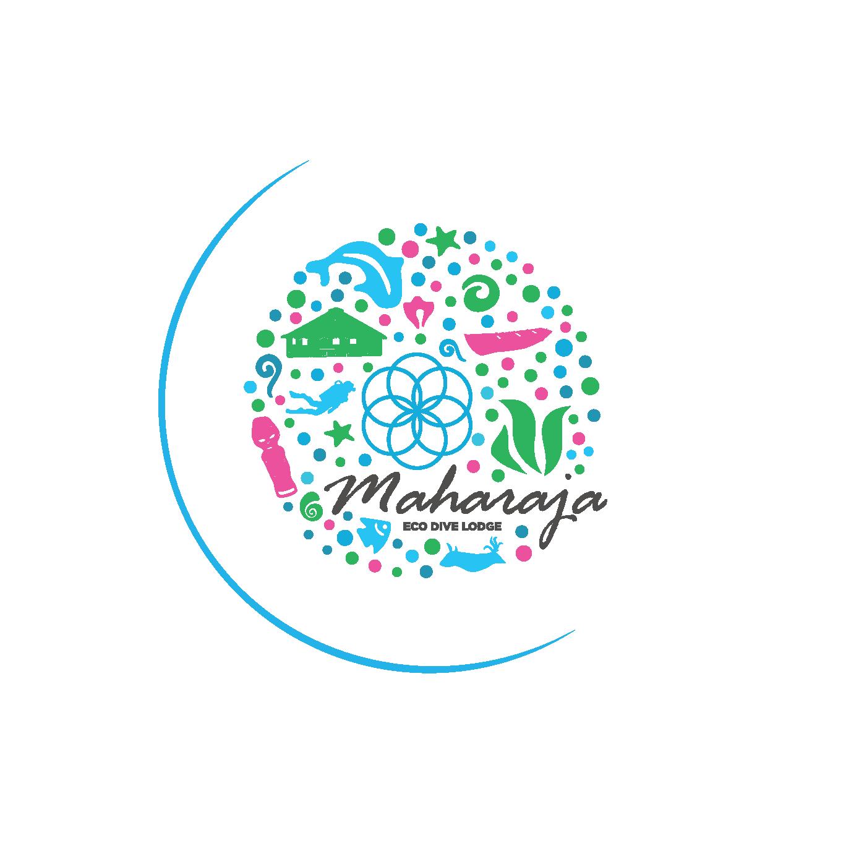 The EMMS Branding Project: MahaRaja Eco Dive Lodge Logo
