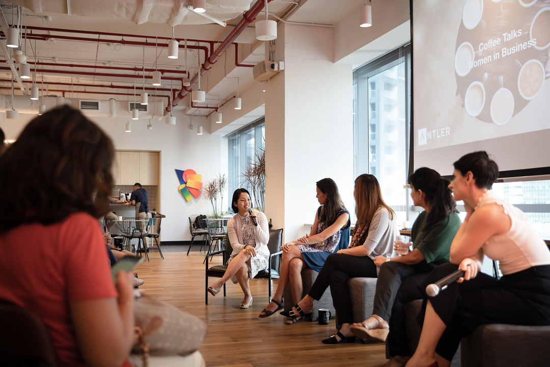 Coffee Talks with Female Founders hosted by L.I.C. and Anter