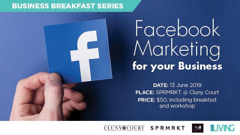 Expat Living Business Breakfast Facebook Marketing Workshop