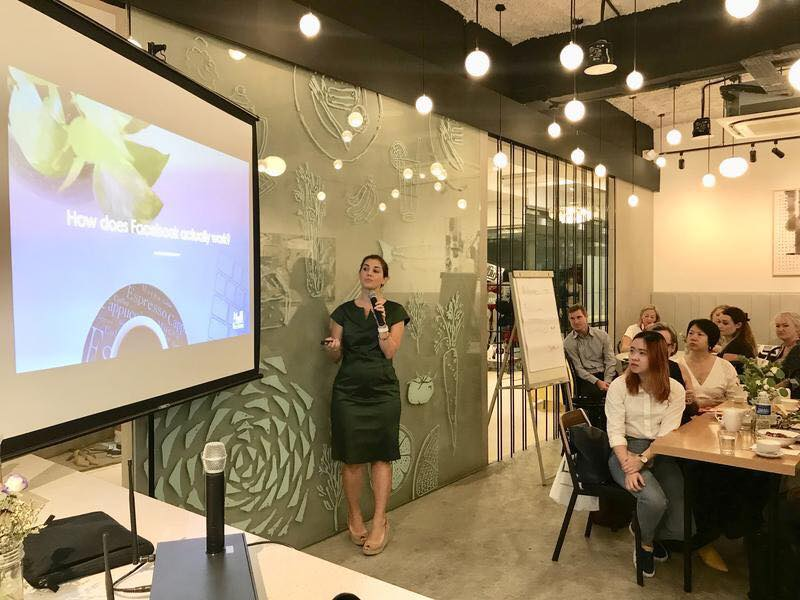 Hosting Expat Living's Business Breakfast sharing the latest tips and tricks to manage your Facebook Marketing.
