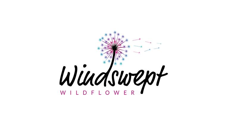 Windswept Wildflower Logo