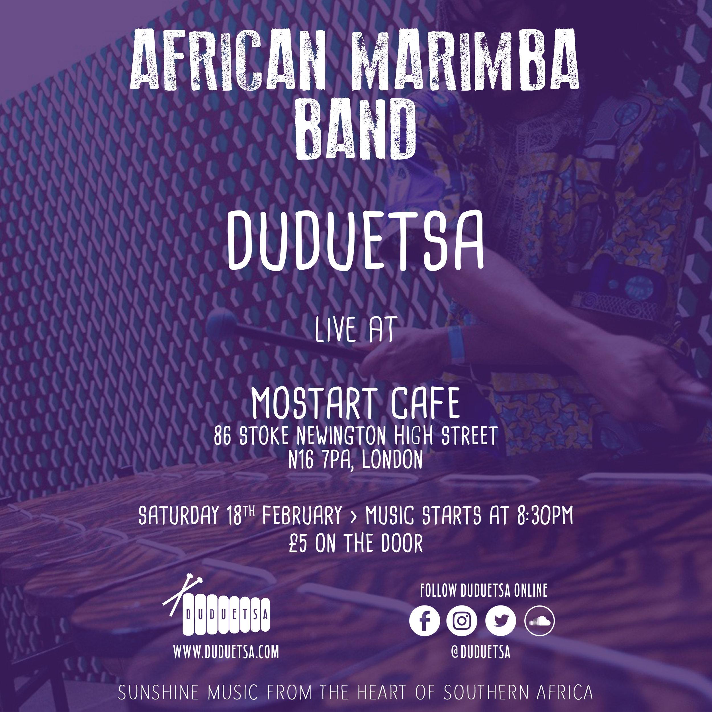 Duduetsa African Marimba Music Live Show