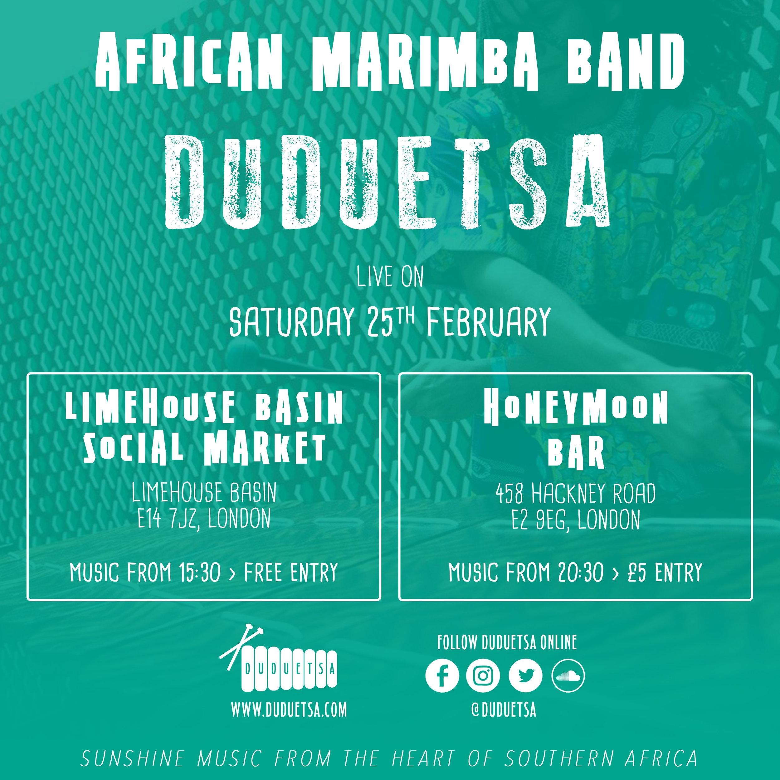 Duduetsa African Marimba Band
