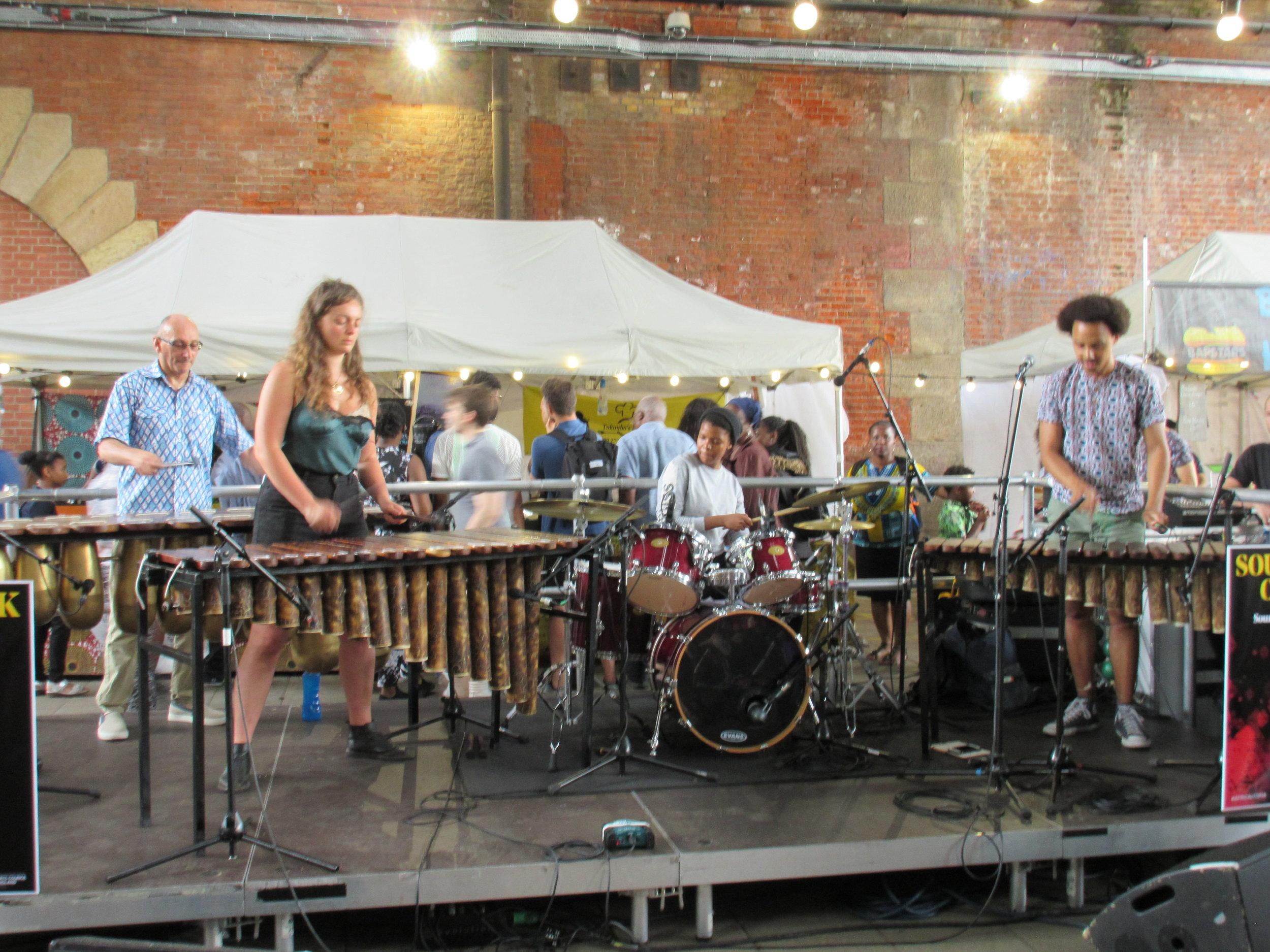 Otto Gumaelius & African Marimba Band At Africa Utopia