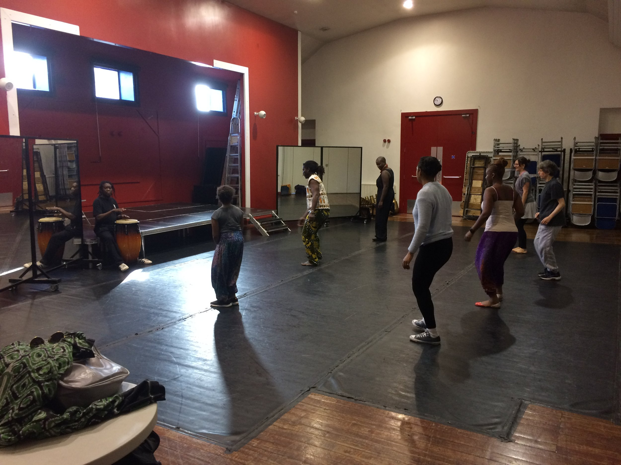 Dance workshop with Nelson Neves