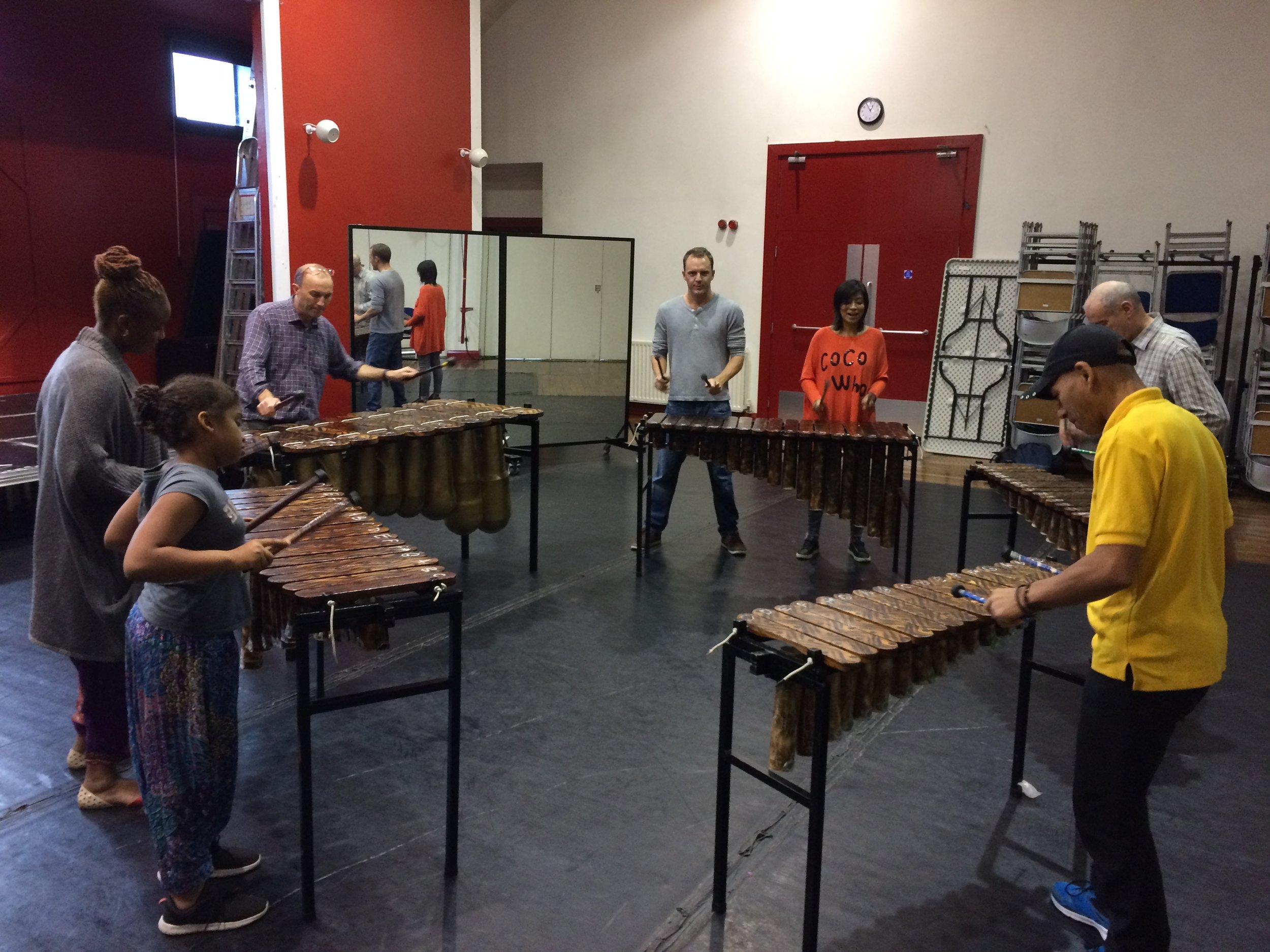 Marimba Workshop With Otto Gumaelius