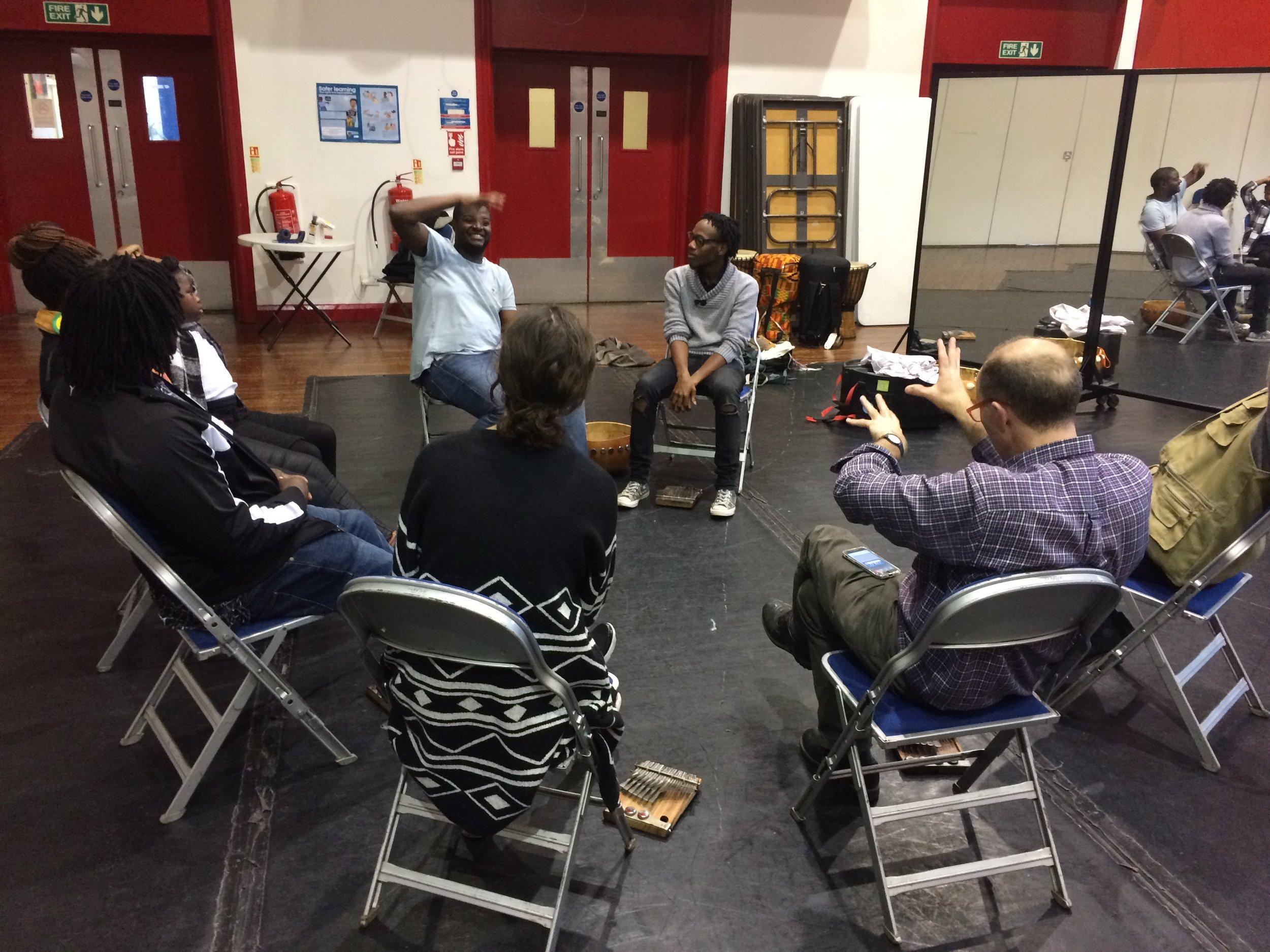 Mbira Workshop with Taku Mukiwa