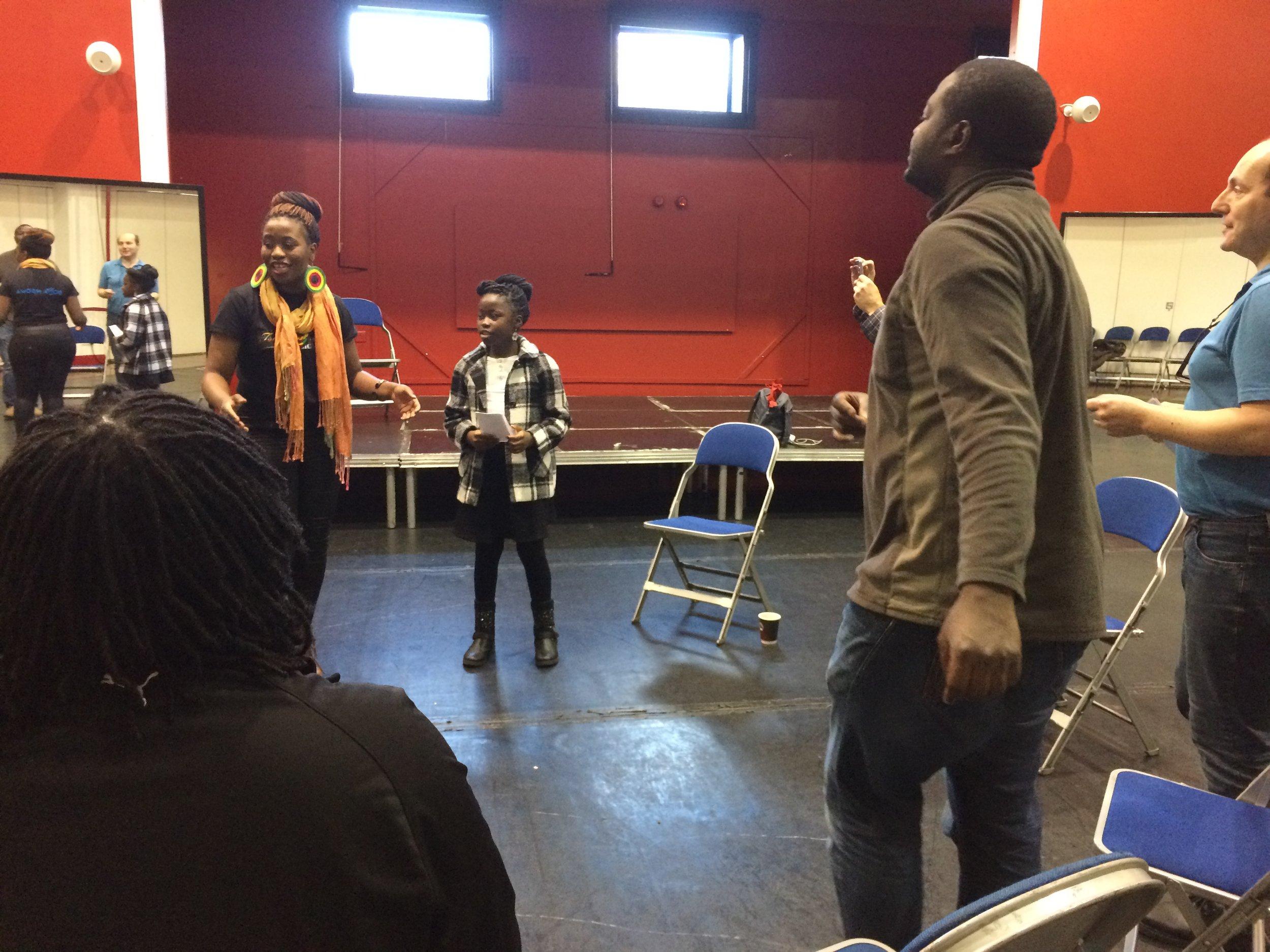 Singing workshop with Tsungai Tsikirai