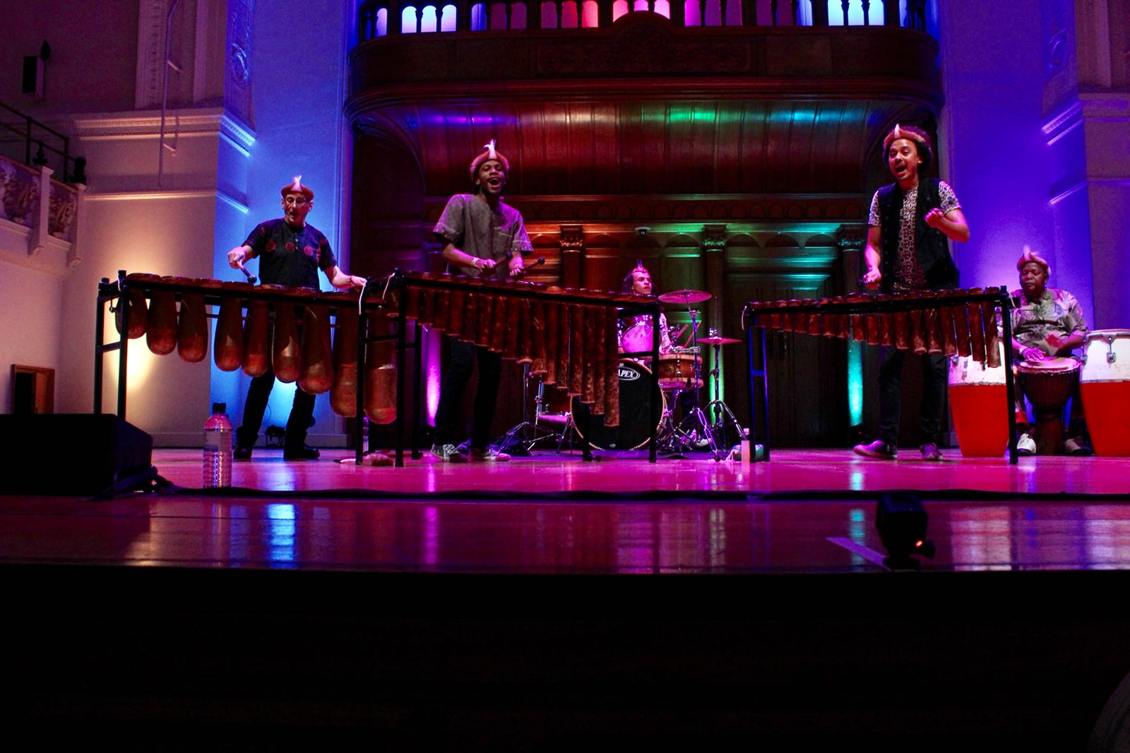 Cadogan Hall London - Panafrik - Otto Gumaelius & Taste of Southern Africa Marimba Band 1.JPG