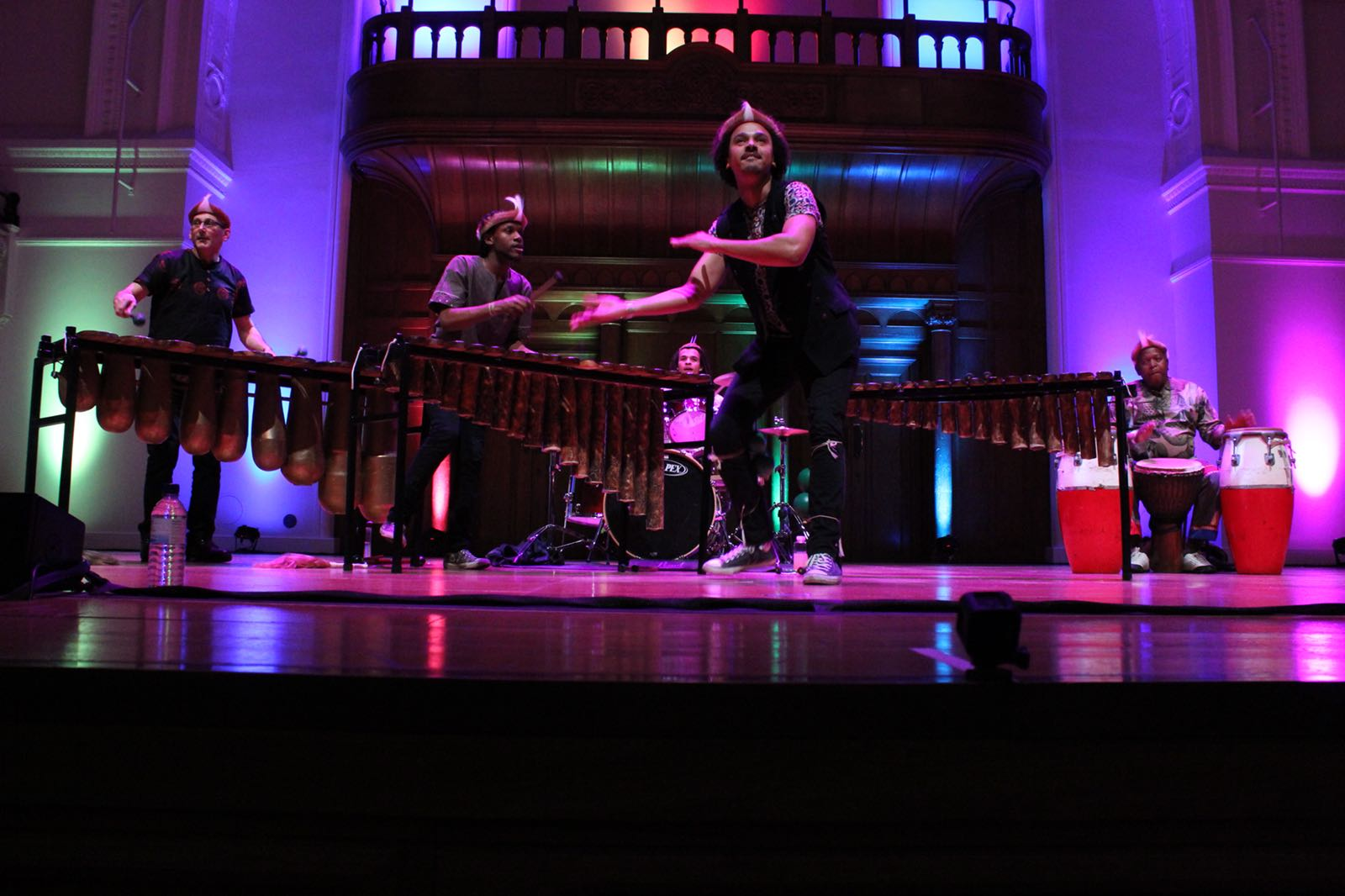 Cadogan Hall London - Panafrik - Otto Gumaelius & Taste of Southern Africa Marimba Band 2.JPG