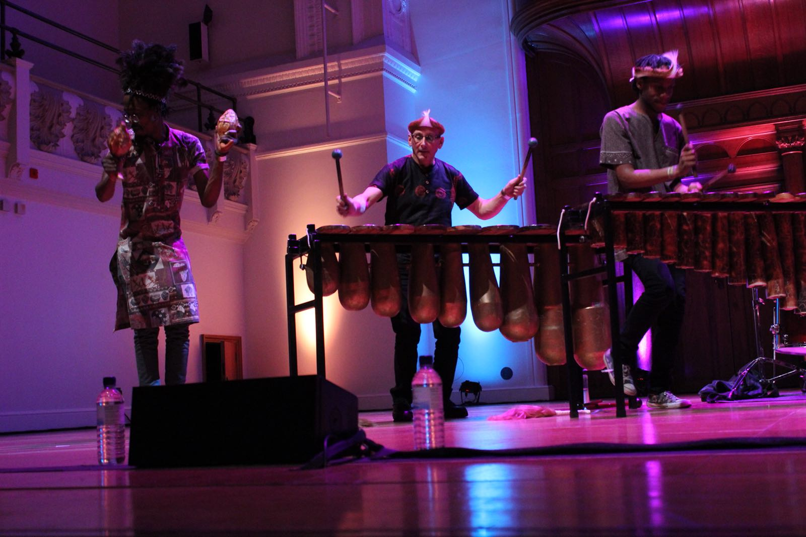 Cadogan Hall London - Panafrik - Otto Gumaelius & Taste of Southern Africa Marimba Band 4.JPG
