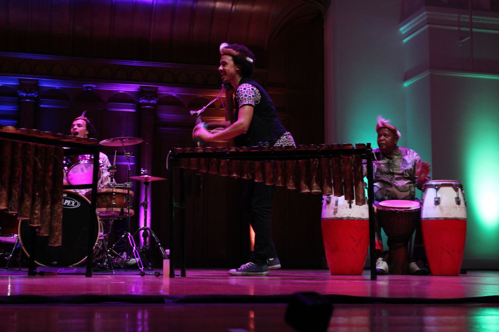 Cadogan Hall London - Panafrik - Otto Gumaelius & Taste of Southern Africa Marimba Band 5.JPG