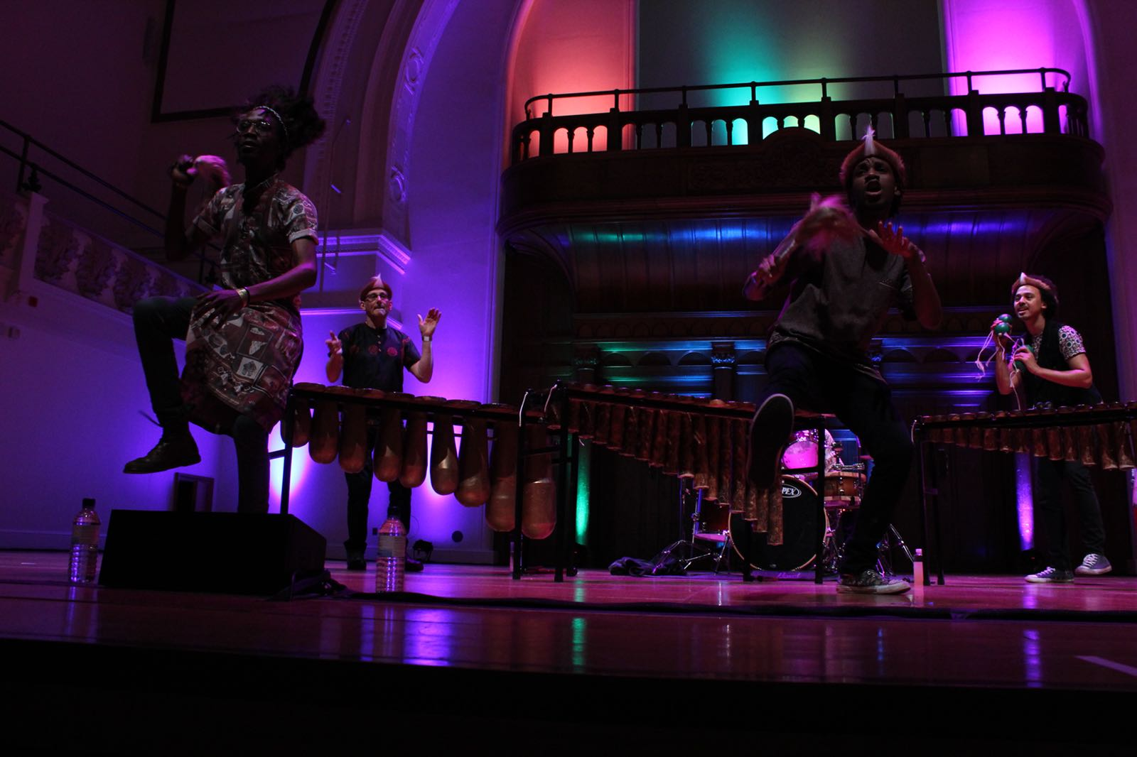 Cadogan Hall London - Panafrik - Otto Gumaelius & Taste of Southern Africa Marimba Band 6.JPG