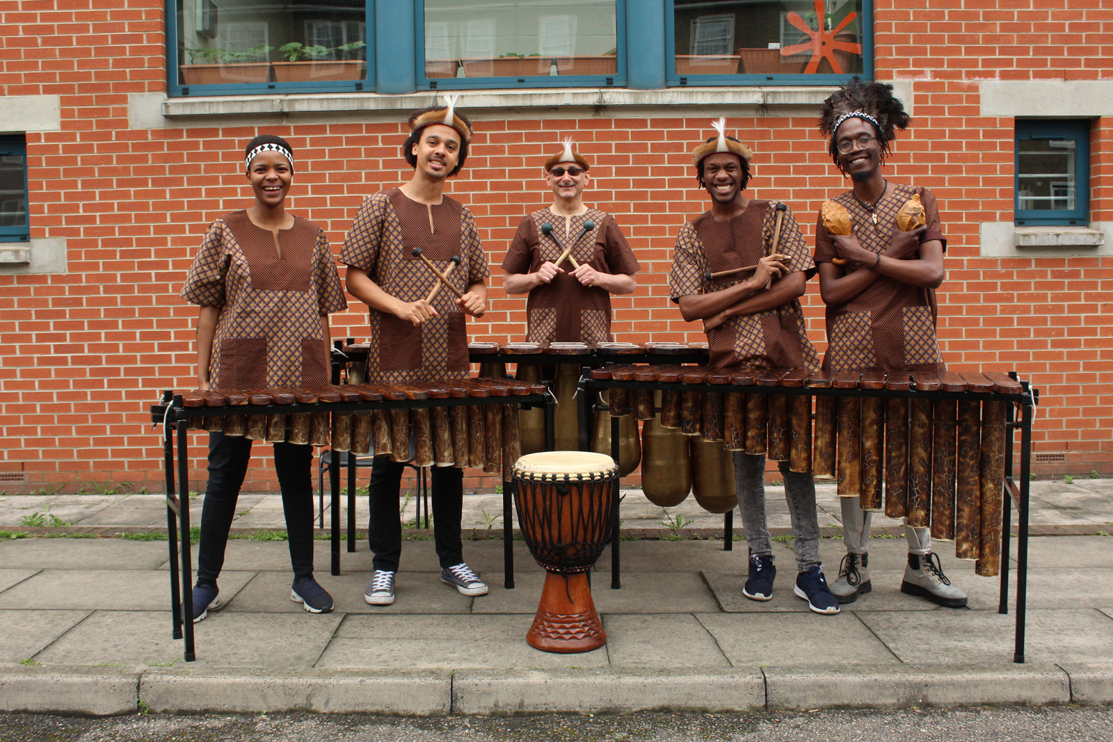 Otto And The Mutapa Calling - African Marimba Band - London, United Kingdom