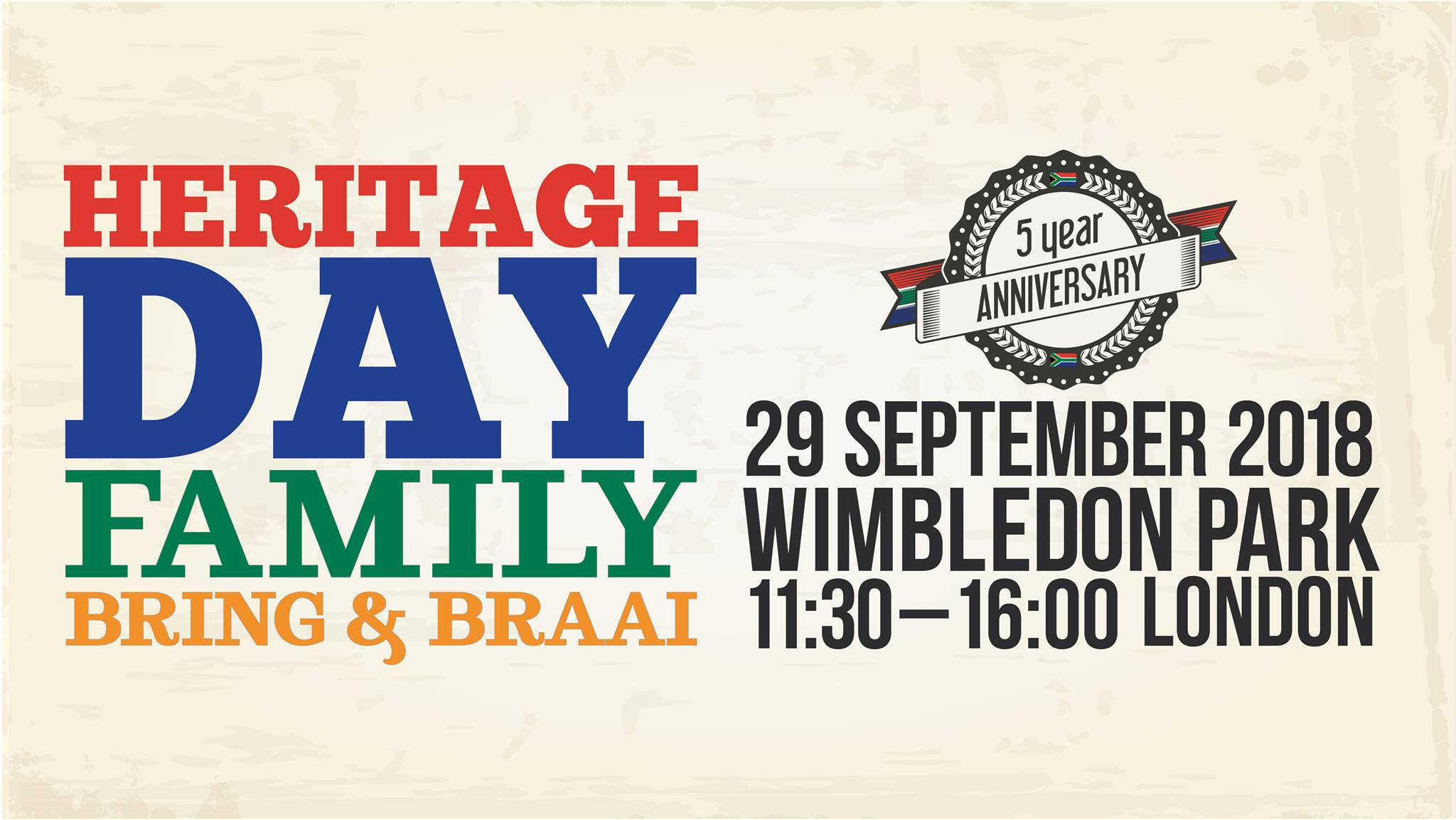 South Africa Heritage Day Wimbeldon Park London 2018