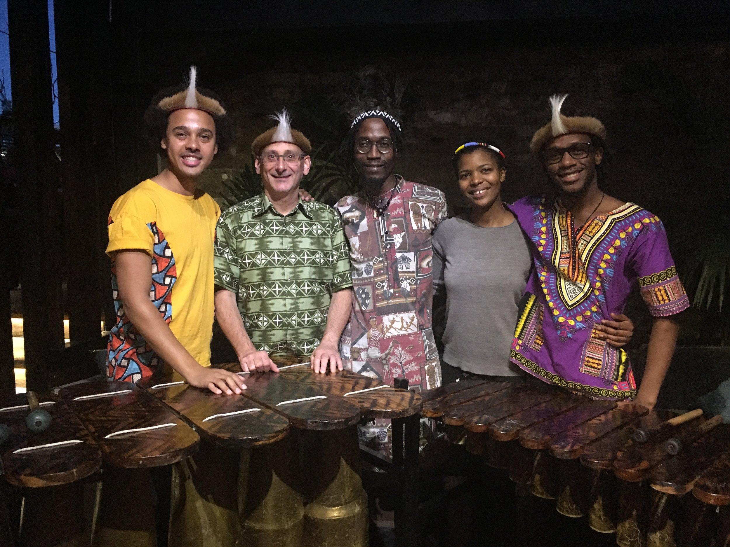 Otto & The Mutapa Calling - Mbulelo Ndabeni - Century Bar Soho